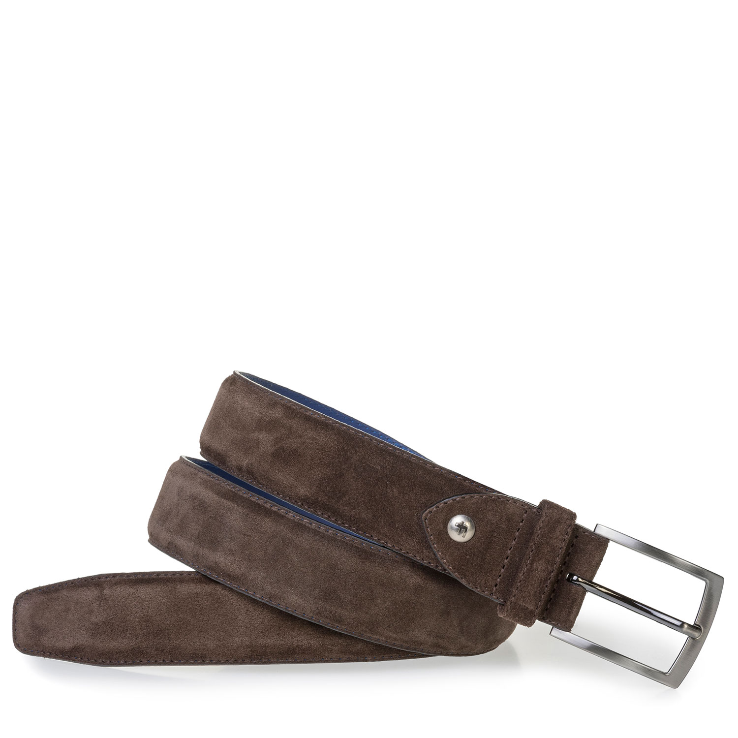 75201/69 - Brown suede leather belt